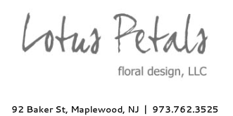 Lotus Petals  floral design, LLC